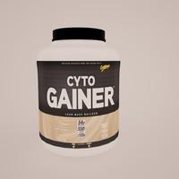 3d cyto gainer model