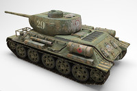 Tank T-34 85