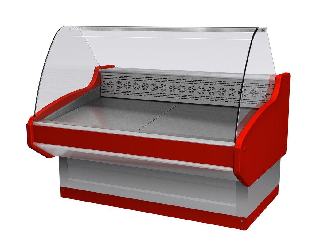 refrigeration pastry delicatessen 3d max