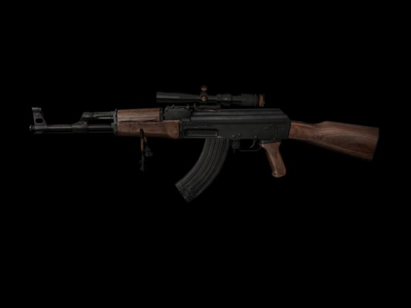 cinema4d ak 47 scope