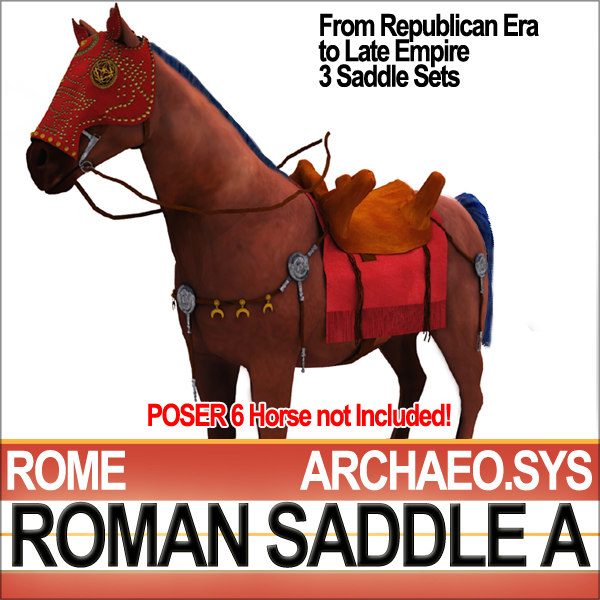 maya ancient rome saddle bridle