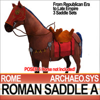 Saddle Ancient Rome Bridle Harness A