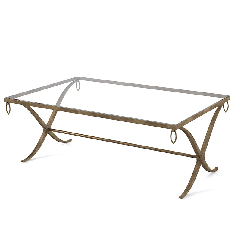 Barbara Barry Baker Iron Coffee Table 34 53 1