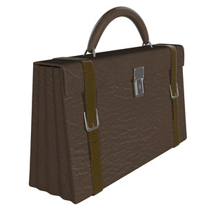 3d obj briefcase case