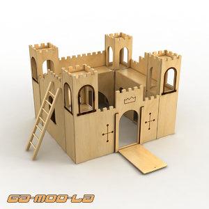 toy castle jigsaw max