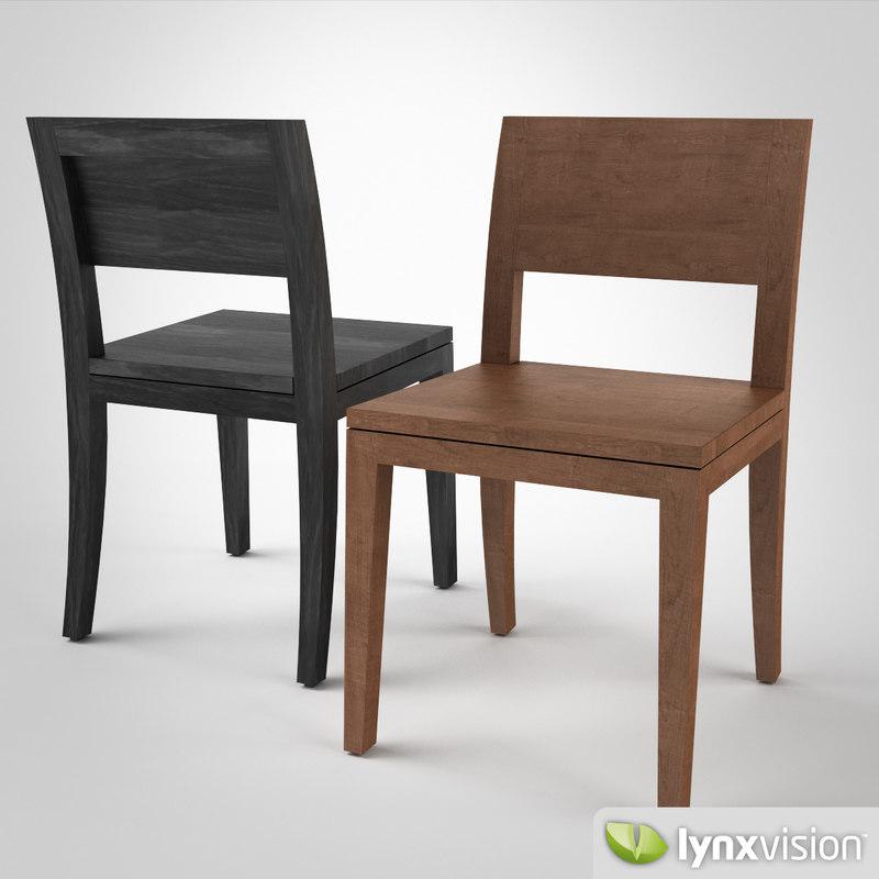 3d oryx chair wildspirit model