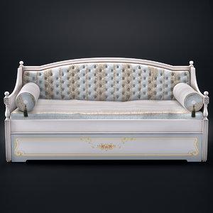 fratelli pellegatta divano letto 3d model