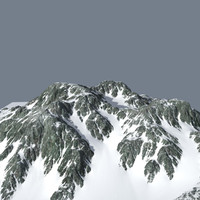 3ds max mountainous terrain