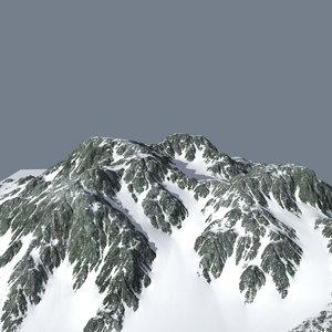 3ds max mountainous terrain
