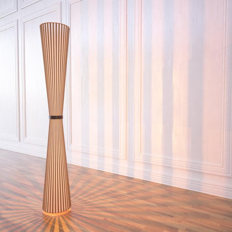 barasti lamp 3d model