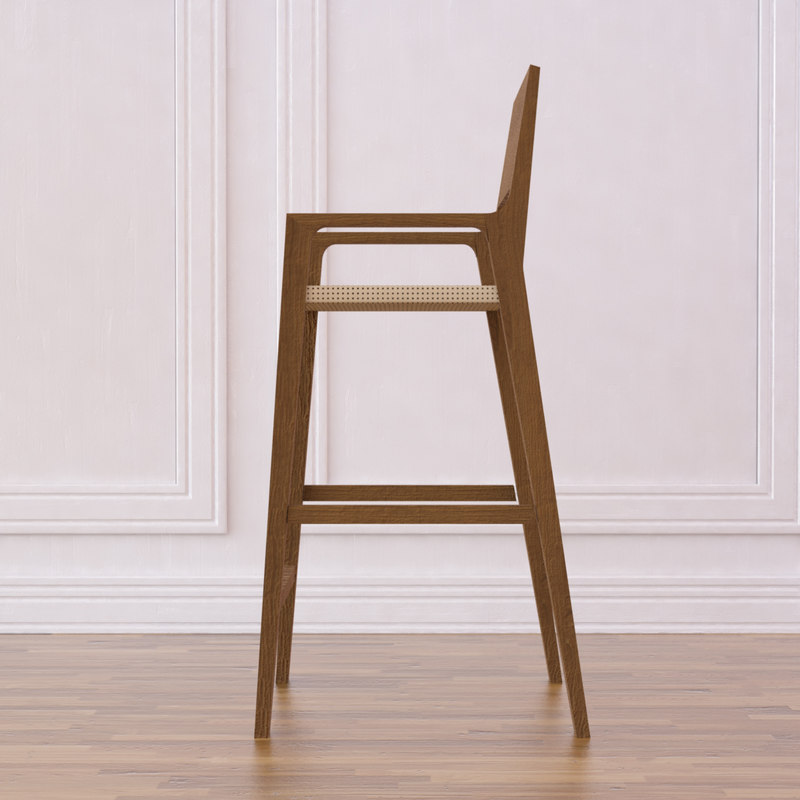 timber bar stool 1 max