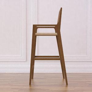 timber bar stool 1 max