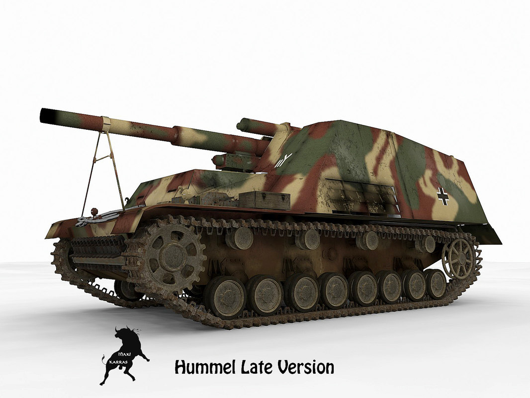165 hummel late version 3d max