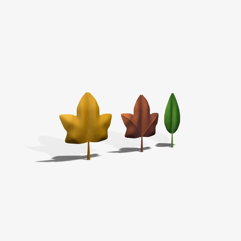 3d tree flower model