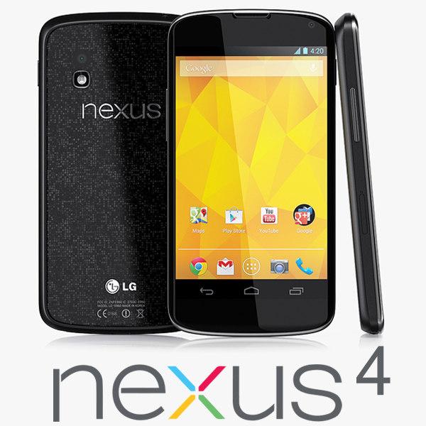 google nexus 4 3ds