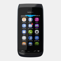 nokia asha 309 mobile phone 3d 3ds