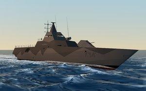 3d model hswms nykoping
