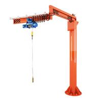 3d crane loader model