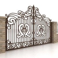 Metal gate and fence 1