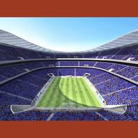 3d model soccer football