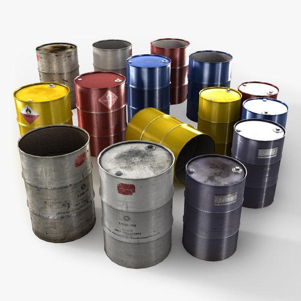 3ds max barrel