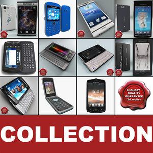 sony ericsson phones v2 3d max