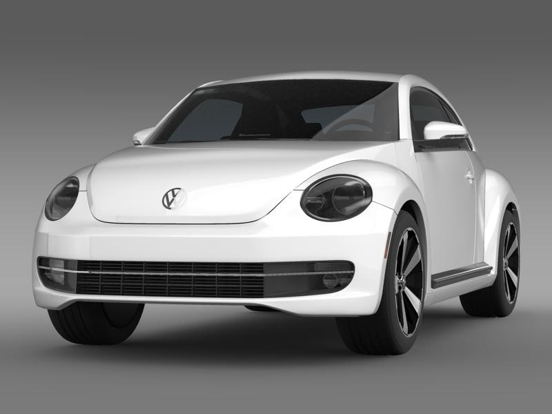 beetle turbo black 2012