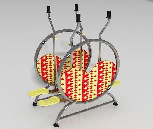 model of airwalker exercise machine