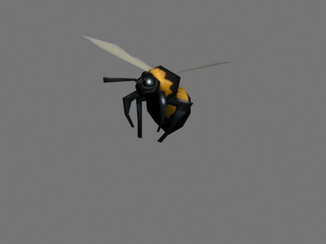 3d bumblebee model