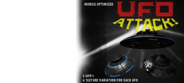 3dsmax ufo attack