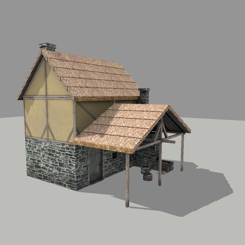 blacksmith forge 3d max