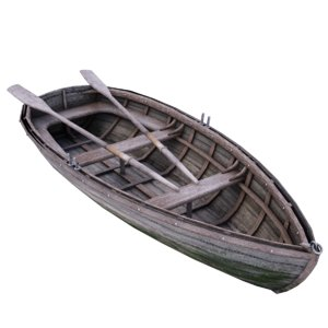 old wooden boat max