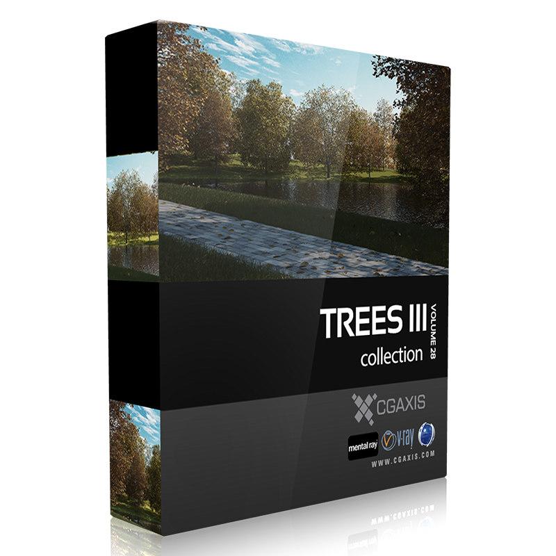 3d volume 28 trees iii model