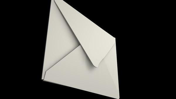 3d c4d envelope mail
