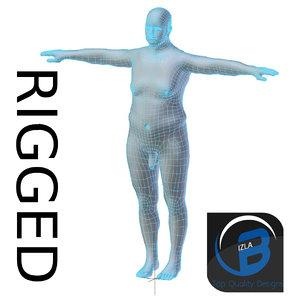 rigged mesh obj
