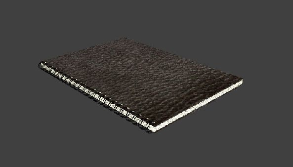 3d spiral bound book covers model