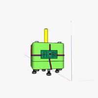 3d stepper motor