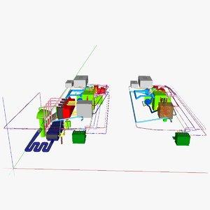 3d ic 1 diesel setups model