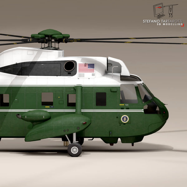 marine helicopter 3d 3ds