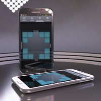 3d samsung galaxy note ii