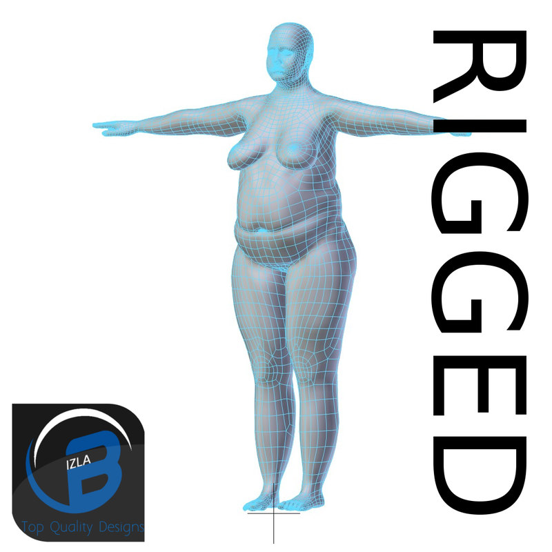 3d model rigged base mesh