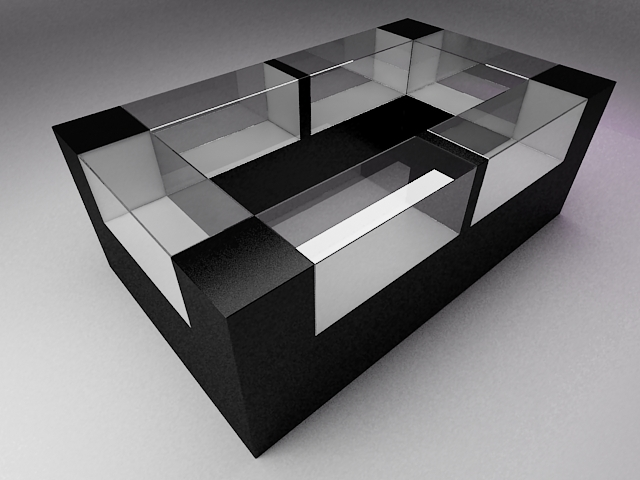 simple display cabinet 3ds free