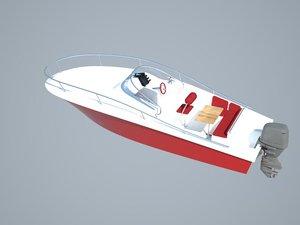 6m pleasure boat 3d 3ds