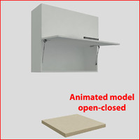 kitchen furnitures 90 cm 3d max
