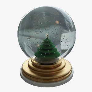 3d snowglobe decoration