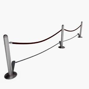 3ds velvet rope line