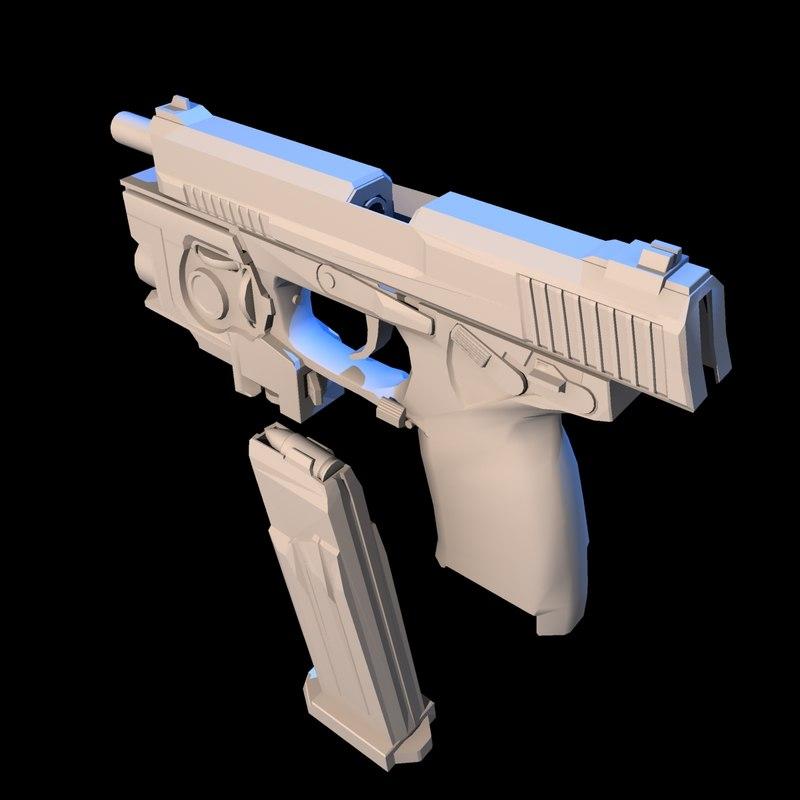 3d - socom 9mm