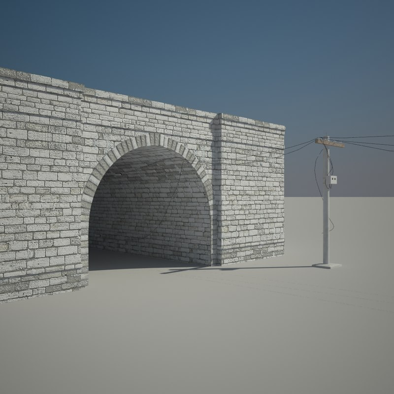 3d tunnel traine