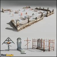 Russian Graveyard