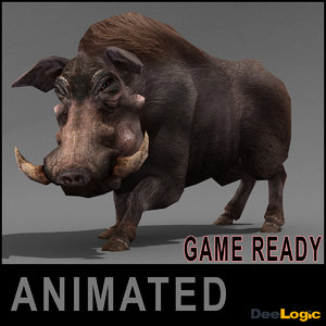 3ds max warthog animations ready